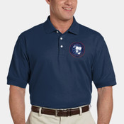 Embroidered Pima Pique Short Sleeve Polo